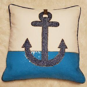 Jonathan Adler Cote D'Azure Pillow - Anchor